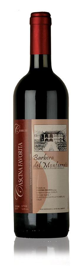 Barbera del Monferrato Cascina Favorita